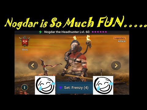 Nogdar the Headhunter is Actually Good...