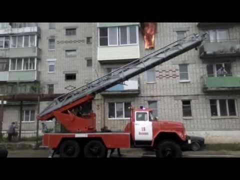 пожар в г. Вязники ул. Ефимьево д. 3