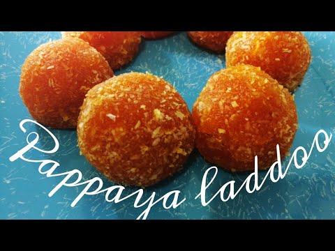 പപ്പായ ലഡ്ഡു /pappaya laddoo in just ten minutes/Pappaya laddu/Fruit laddu/ Recipe No :11