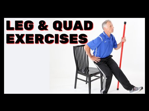 3 Best Leg & Quad Exercises At Home, Body Weights; Beginner to Advanced from YouTube · Duration:  10 minutes 45 seconds