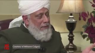 Hazrat Mirza Masroor Ahmad`s(aba) interview about Donald Trump`s Election Victory-660News Calgary