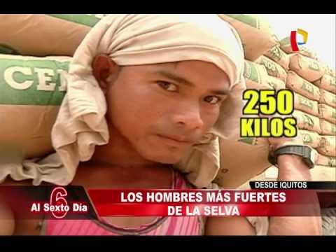 Desde Iquitos: los hombres más fuertes del Perú