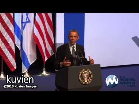 U.S. President Barack Obama to the Israeli People at the Jerusalem Convention Center