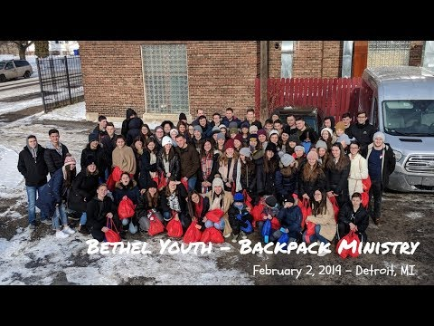 Bethel Youth - Backpack Ministry - February 2, 2019