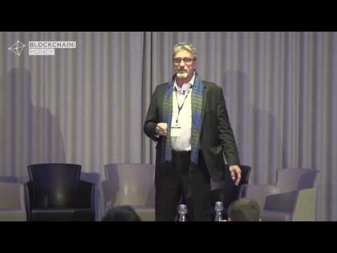 John McAfee - CEO at MGT Capital Investments - Blockchain Money London