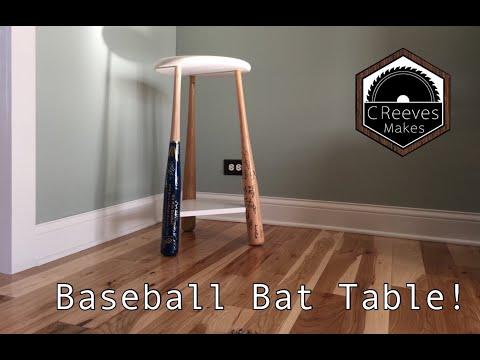 CReeves Makes The Baseball Bat Table (Epoxy Fail) ep026