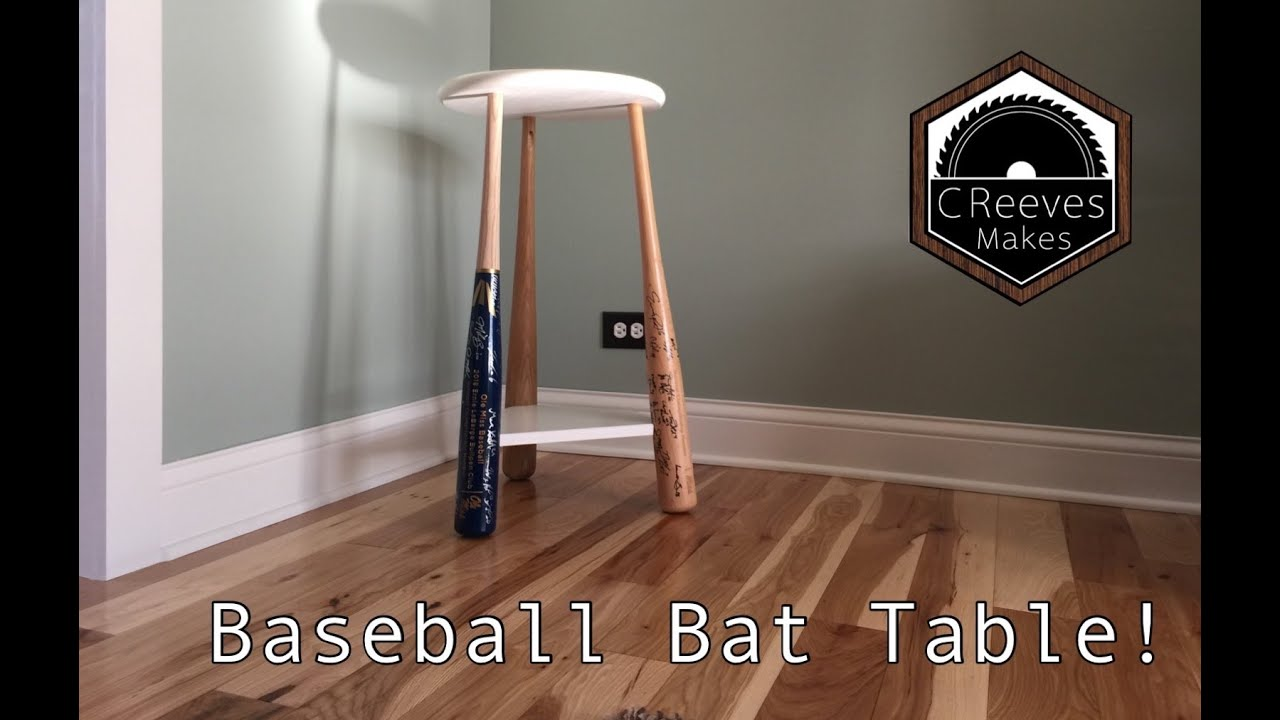 Creeves Makes The Baseball Bat Table Epoxy Fail Ep026