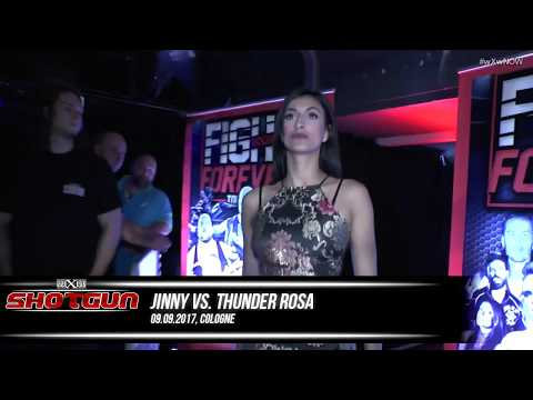 Thunder Rosa vs. Jinny (wXw Cologne 09.09.2017)