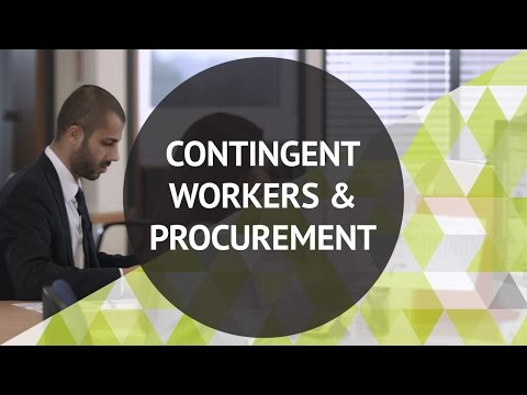 Contingent Workers and Procurement