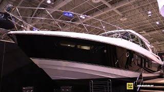 2015 Cruisers Yachts 45 Cantius Motor Yacht - Interior Walkaround - 2015 Toronto Boat Show