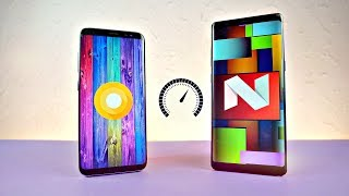 Samsung Galaxy S8 Android 8.0 Oreo vs Note 8 - Speed Test!