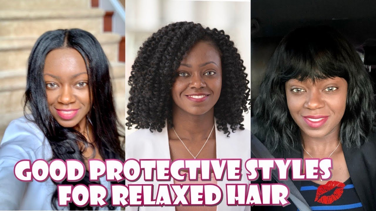 Relaxed Hair Protective Styles Do S And Don T Good And Bad Protectivestyles Relaxedhair Youtube