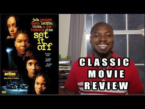 SET IT OFF Movie Review | Jada Pinkett-Smith Queen Latifah | Classic Movie Breakdown
