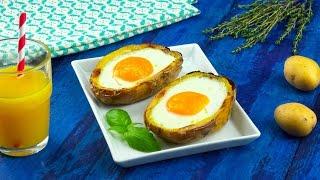 Яичница в картофеле: просто и неожиданно вкусно