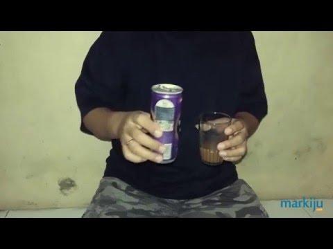 Menutup Sisa Minuman Kaleng Di Dalam Kulkas