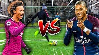 KYLIAN MBAPPE VS LEROY SANE FUßBALL CHALLENGE !