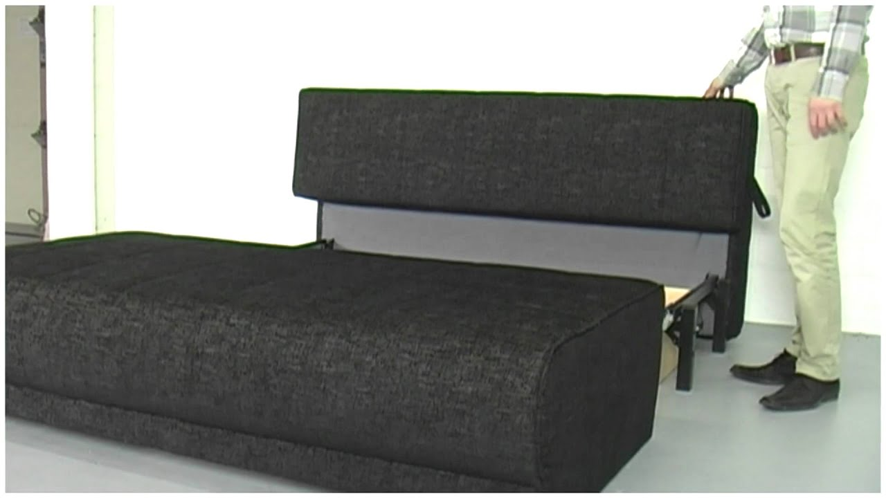 schlafsofa mit bettkasten youtube. Black Bedroom Furniture Sets. Home Design Ideas