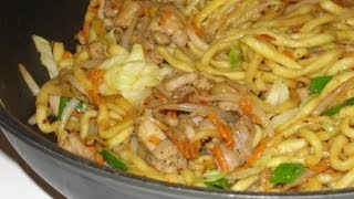 Chicken Yakisoba (fried Noodles)