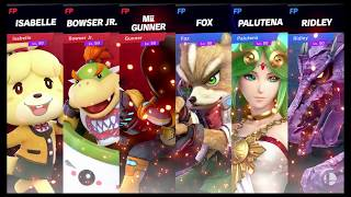 Super Smash Bros Ultimate Amiibo Fights   Request #1459 Team Stamina Battle