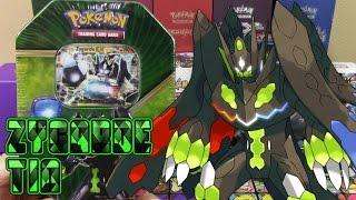 Pokemon Cards - Zygarde EX Shiny Kalos Trio Tin Opening!