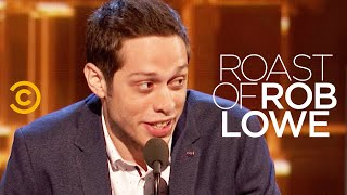 Pete Davidson Wrecks R๐b Lowe's S**t (Full Set) - Roast of Rob Lowe