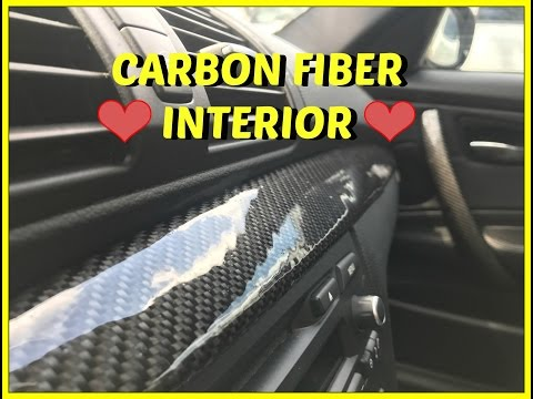 How To Wrap Your Interior In REAL Carbon Fiber!