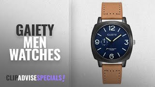 10 Best Selling Gaiety Men Watches [2018 ]: Clearance Men