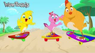 Eena Meena Deeka | New Gags 01 | Funny Cartoons for Kids | Wow Toons