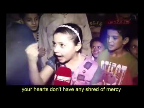 Message to Israel from Gaza Girl