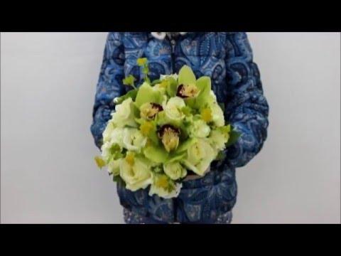 Букет Невесты Фисташка
