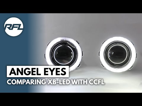 Comparing XB-Led with CCFL angel eye