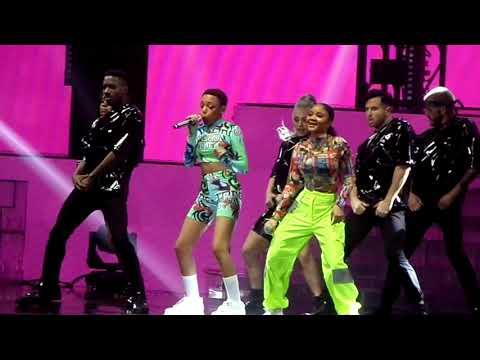Bang Bang - Acacia And Aaliyah ( X Factor Live Tour 2019 - Birmingham)