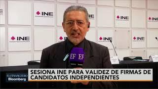 INE podría bajar de la contienda electoral a Ríos Piter y El Bronco por firmas falsas