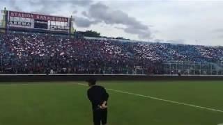 Download Mp3 Gemuruh Dan Koreo Aremania Di Stadion Kanjuruhan Malang | Saat Arema Fc Vs Persi