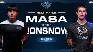 JonSnow vs MaSa ZvT - Semifinals - WCS Challenger NA Season 1