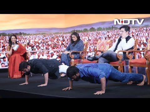 NDTV Youth Conclave's Fitness Challenge