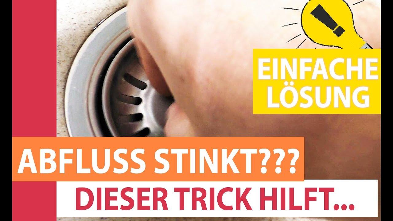 Abfluss Stinkt So Wird Der Abfluss In Bad Kuche Und Wc Schnell Sauber Youtube
