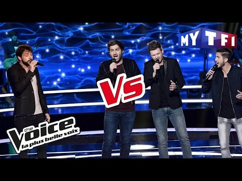 Incantèsimu VS Morgan - « Streets Of Philadelphia » (Springsteen)   The Voice France 2017   Battle