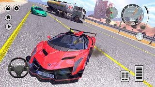 Drift Veneno Roadster Simulator Android Gameplay FHD - New Car Games for Kids