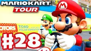 More Winter Tour! - Mario Kart Tour - Gameplay Part 28 (iOS)
