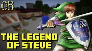 The Legend of Steve #05 : TEMPLE DE L