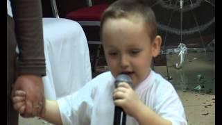 Поздравление ребенка на свадьбе!