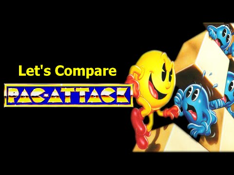 Let's Compare ( Pac - Attack )