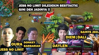 EVOS VS SAINTS  JESS NO LIMIT KETEMU TEAM PUSH RANK DAYLEN  - Mobile Legend Indonesia
