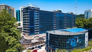Маринс Парк Отель 4 Marins Park Hotel Sochi Сочи Россия обзор отеля территория