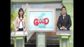 夕方のニュースで放送された2012年10月6日に行われた第2回湯涌温泉ぼんぼり祭りの様子.