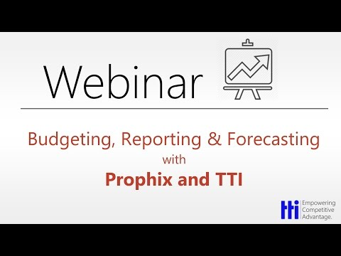 Extending Dynamics GP - Budgeting, Reporting & Forecasting with Prophix