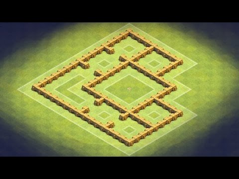 Clash of Clans - TH5 Farming Base (Tresury) Keep Your Resources,Gold and Elixir