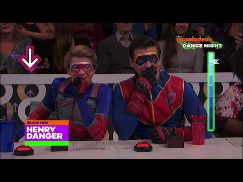 Nickelodeons Dance Night With Henry Danger And Game