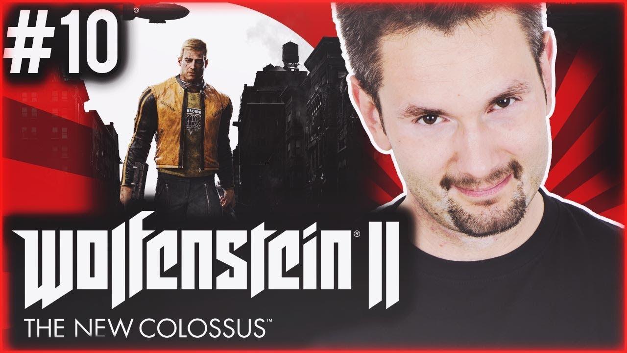 TOŻ TO SAM HITLER ! Wolfenstein II: The New Colossus | #10 SERIA